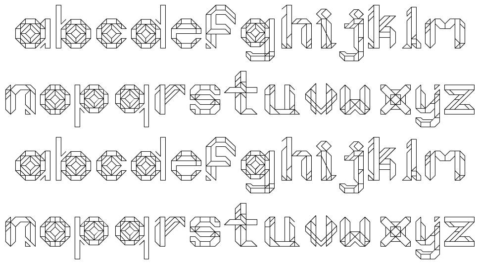 Moonlight Prism font