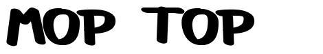 Mop Top font