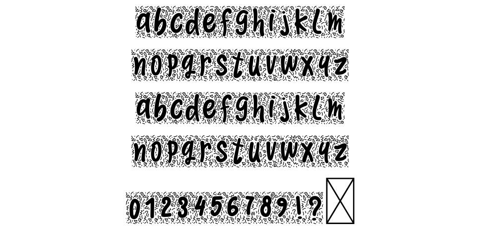 Morningdoodle font