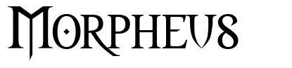 Morpheus schriftart