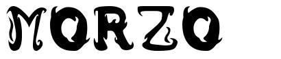 Morzo font
