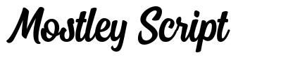 Mostley Script