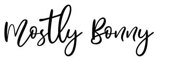 Mostly Bonny