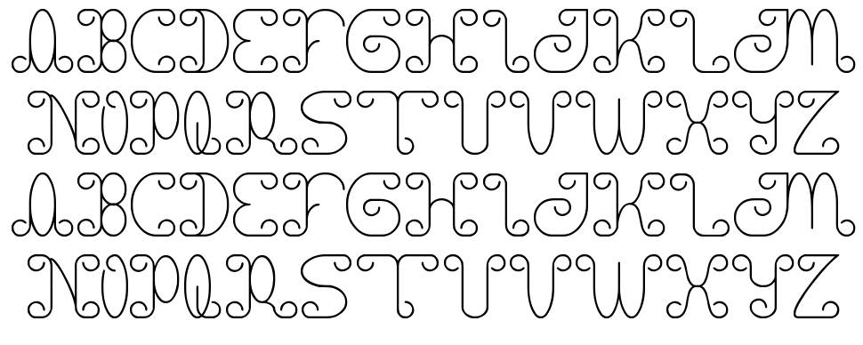 Motorcycle font