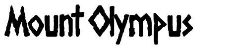 Mount Olympus czcionkę