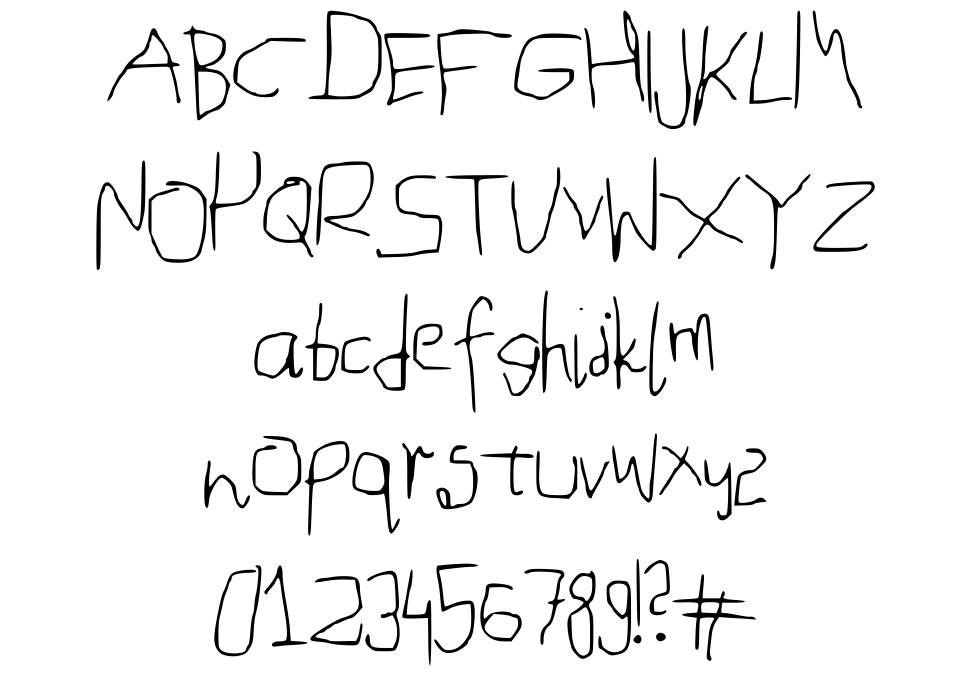 Mouse Handwriting police