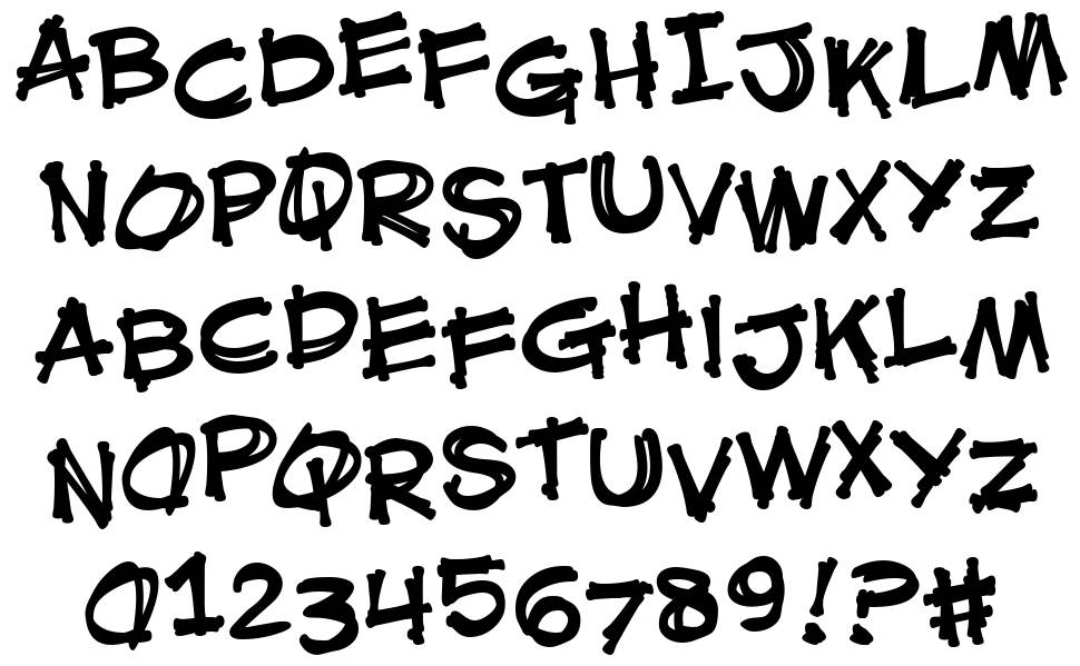 Mouth Breather BB font