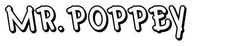 Mr.Poppey font