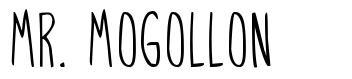 Mr. Mogollon font