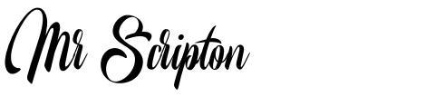 Mr Scripton
