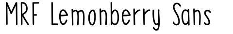 MRF Lemonberry Sans