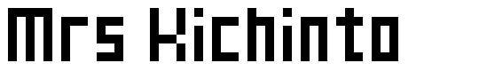 Mrs Kichinto font