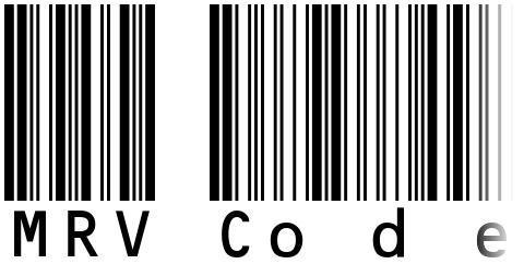 MRV Code39extMA