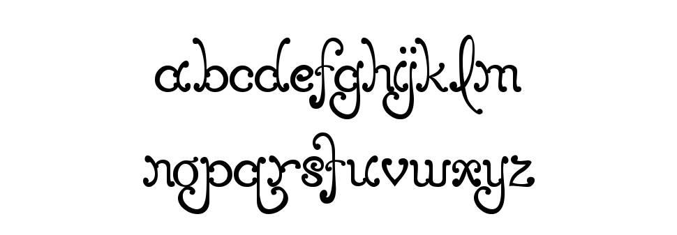 MTF Elegance フォント
