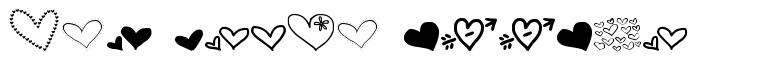 MTF Heart Doodle 字形