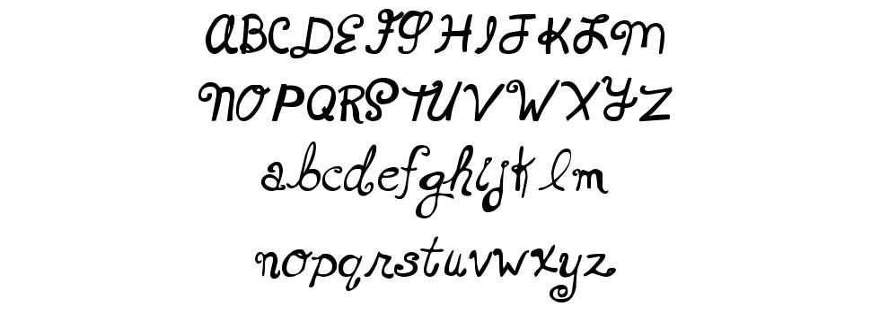 MTF Xoxo Vo.1 шрифт