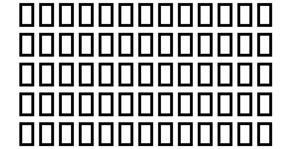 Multimedia Icons font
