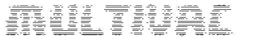 Multivac font