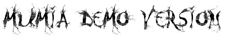 MUMIA DEMO VERSION font