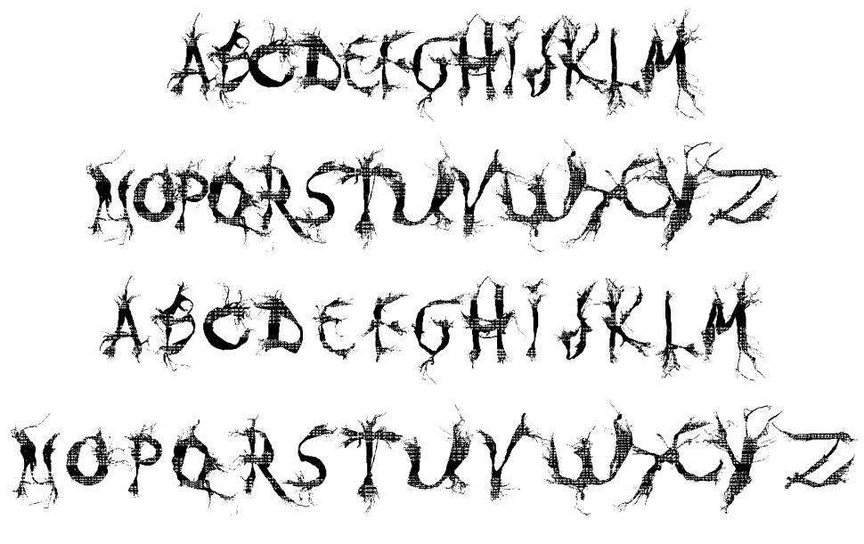 MUMIA DEMO VERSION 字形