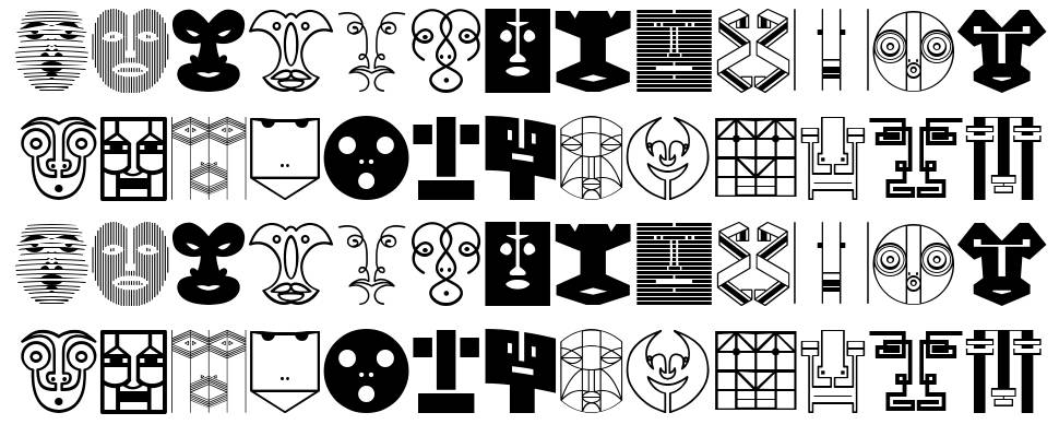 Munari font