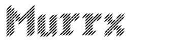 Murrx font