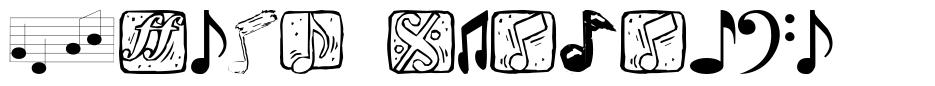 Music Elements 字形