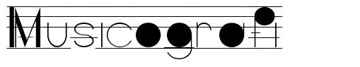 Musicografi font