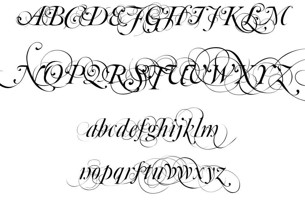 Mutlu Ornamental шрифт