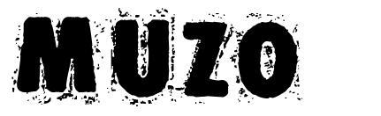 Muzo шрифт