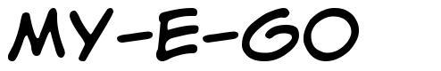 My-E-Go font