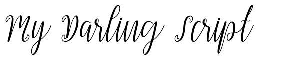 My Darling Script
