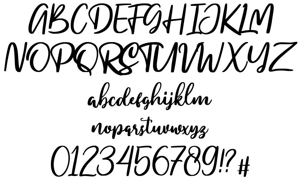 My Homely font