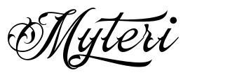 Myteri font