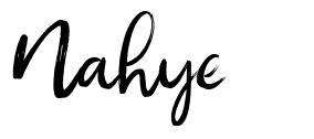 Nahye