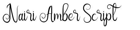 Nairi Amber Script