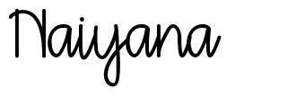 Naiyana フォント