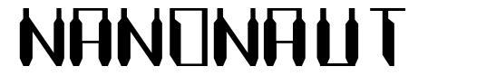 Nanonaut font