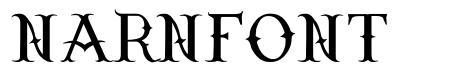 Narnfont font