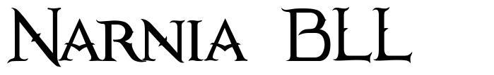 Narnia BLL 字形