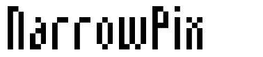 NarrowPix フォント