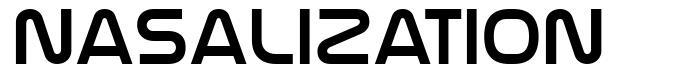 Nasalization 字形