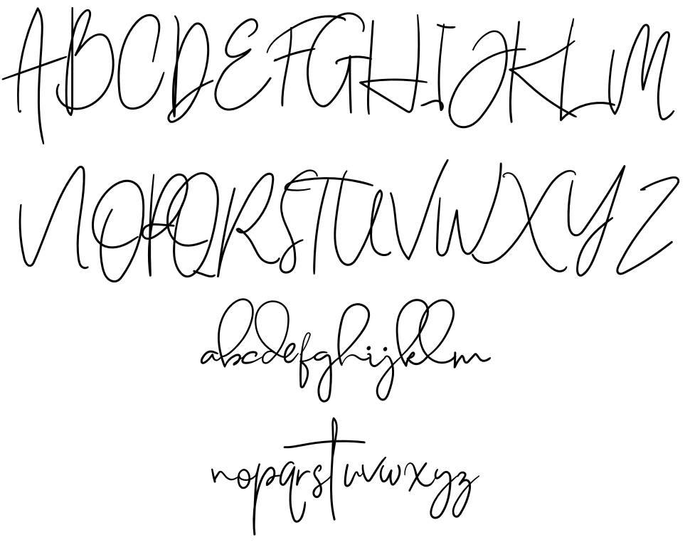 Naturally font
