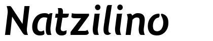 Natzilino шрифт