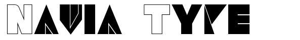 Navia Type font