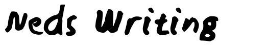 Neds Writing