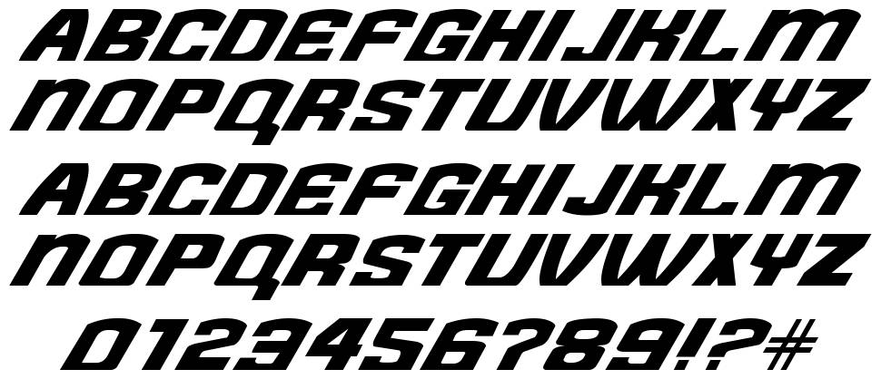 Need for Font font
