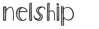 Nelship font
