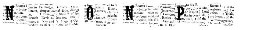 Nelson Old NewsPaper font