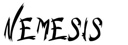 Nemesis font